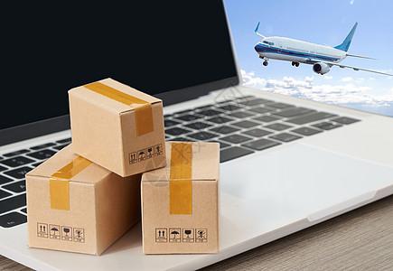 商务互联网空运货物高清下载图片
