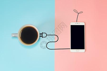 正在充电的手机图片