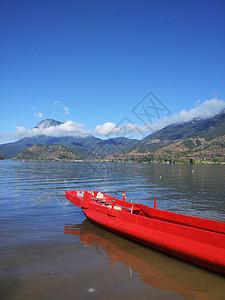 美丽的泸沽湖图片