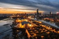 武汉城市夜景图片