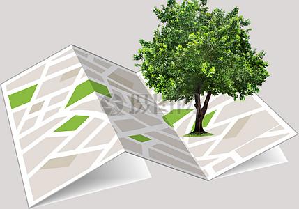 绿色清新环保素材图片