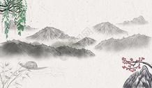 中国风banner海报背景图片
