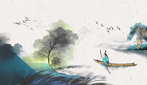 中国风banner 海报背景图片