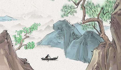 中国风banner背景素材图片