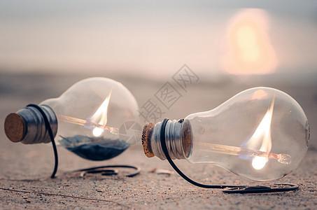 灯泡的资源,节约用电图片