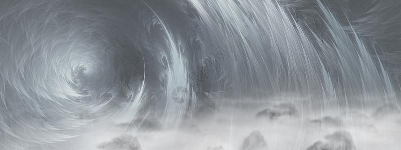 炫酷山脉游戏科技感图片