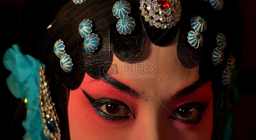 京剧人脸图片
