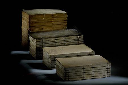 图书馆藏古书籍图片