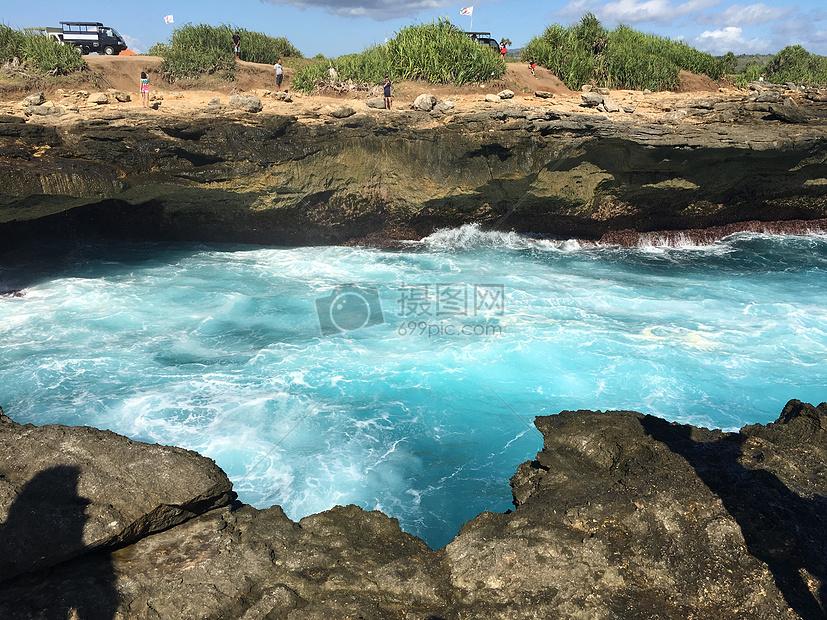 巴厘岛蓝梦岛之恶魔的眼泪
