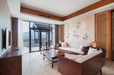 度假酒店房间图片
