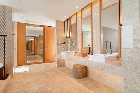 高级酒店洗手间图片