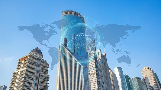 智能云数据城市互联科技时代图片