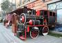汉街上的小火车图片