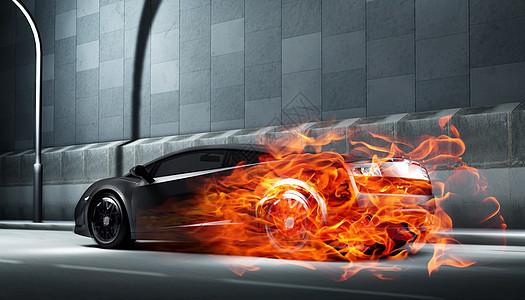 如火般炫酷的跑车图片