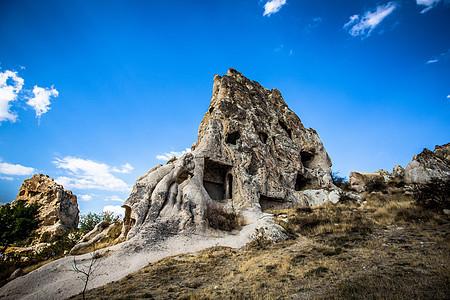 土耳其卡帕多奇亚奇怪的石头图片