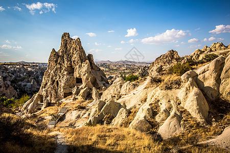 土耳其卡帕多奇亚日出怪石图片