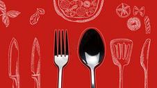 西餐食物餐具图片