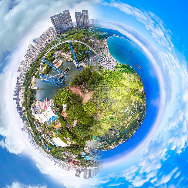 绿色环保地球俯视图图片素材 免费下载 jpg图片格式 VRF高清图片