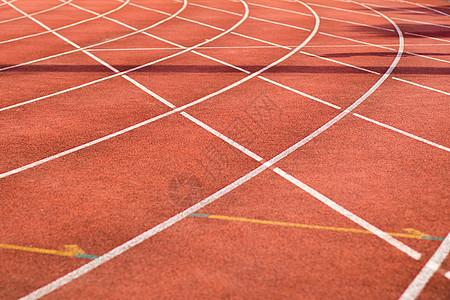 红色跑道操场跑道赛道图片
