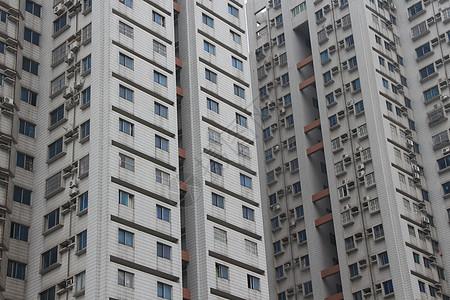 密密麻麻的大厦图片
