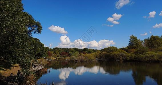 蔚蓝天空图片