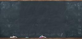 学校教室学生同学上课的黑板图片