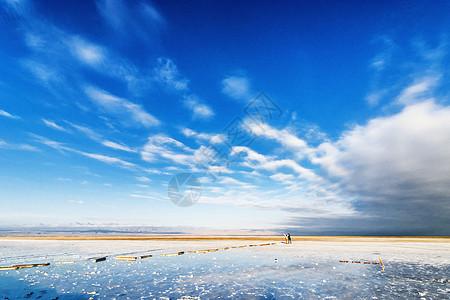天地之间茶卡盐湖图片