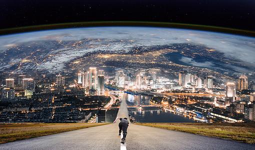 奔向地球图片