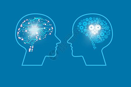 人的大脑在发展与思考中得到更多的信息