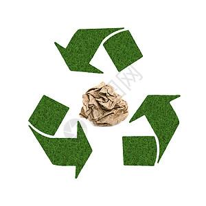 绿色清新环保标志素材图片
