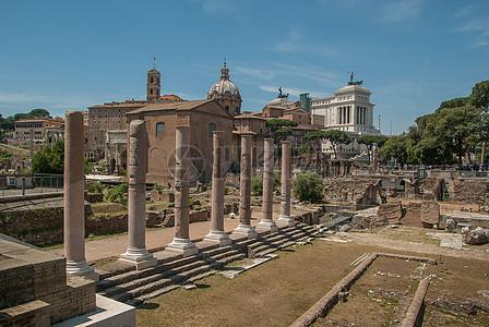 意大利罗马古建筑高清图片