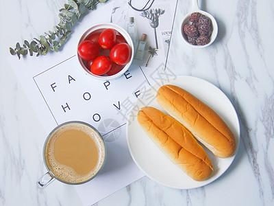 文艺清新早餐图片