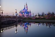 上海迪士尼内景图片