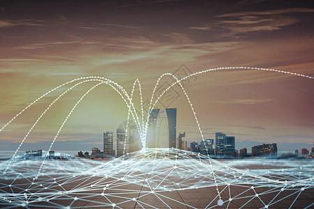 智能城市科技云数据互联系统图片