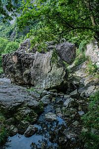 清新自然景区小溪水流风景图片