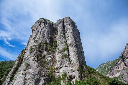 清新景区大气山脉山峰风景图片