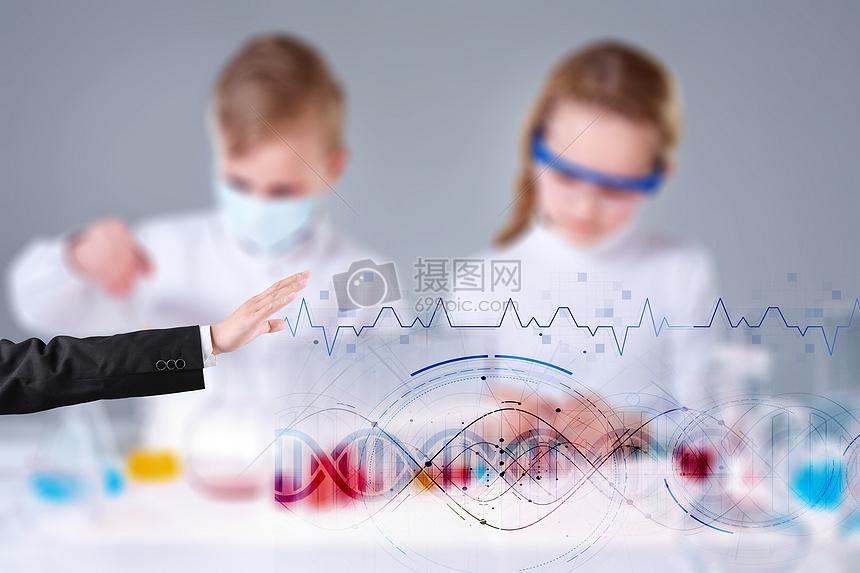 实验室的研究测试图片