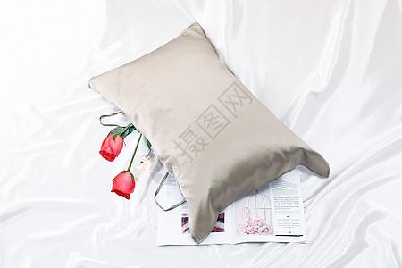 静物枕头图片