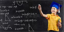 数学男孩图片