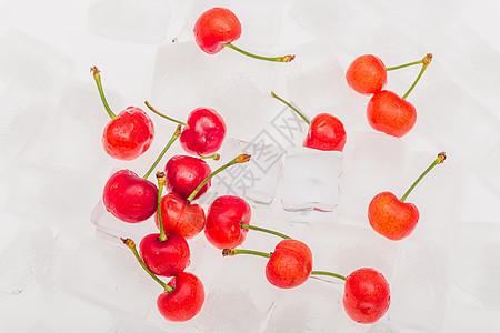 夏天冰爽水果图片