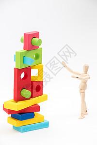 儿童积木益智游戏玩具图片