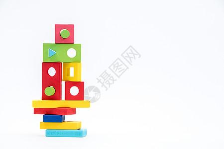 儿童智力玩具益智叠叠高图片