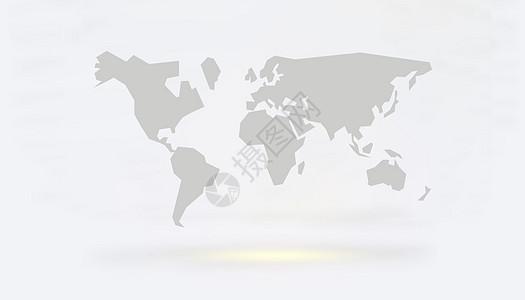 智能科技时代虚拟现实地球图片