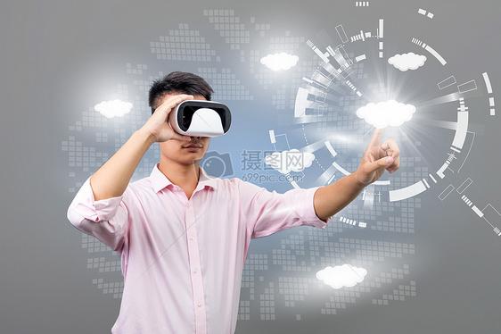 VR眼镜点击云服务图片