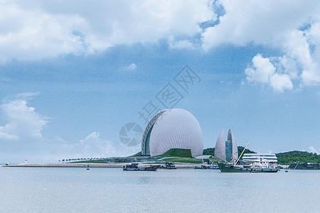 珠海大贝壳高清图片