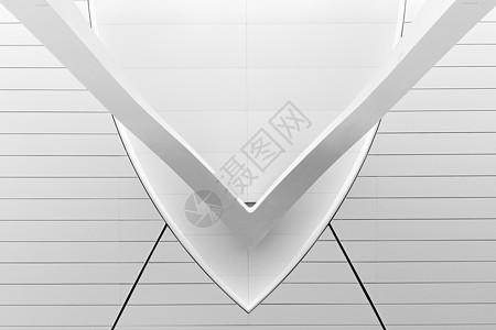 银川机场黑白线条设计图片