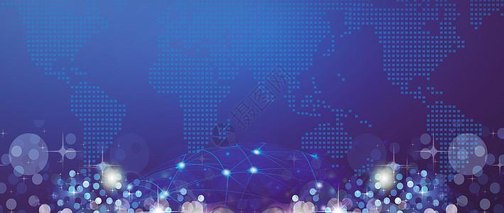 蓝色地球科技图片