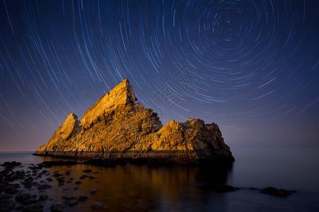 金山大海星轨图片