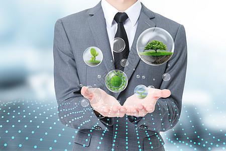 绿色 科技 能源 互动图片
