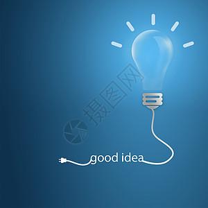 灯泡创意图片